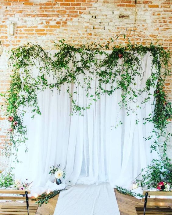 Kiss Wedding Planner ý Tưởng Backdrop Minimalism (2)