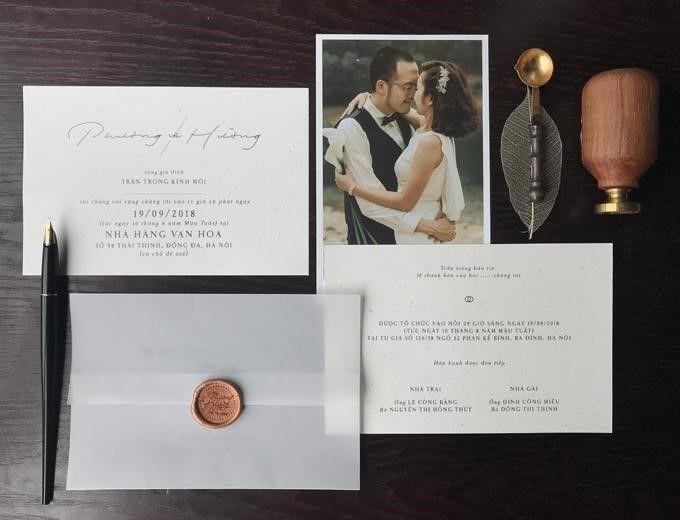 Kiss Wedding Planner Mẫu Thiệp Cưới Minimalism (9)